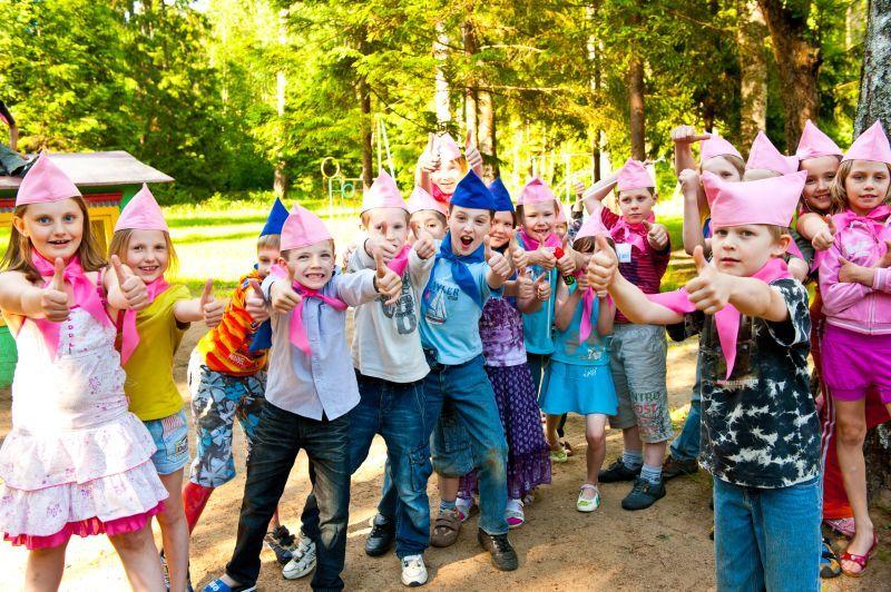 Сценарий мероприятия в лагере для маленьких
